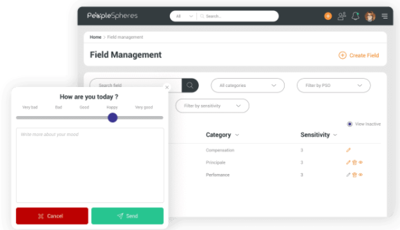 PeopleSpheres - QWL survey tool