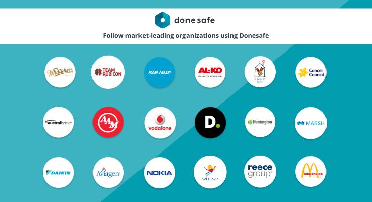Donesafe screenshot: Donesafe Customers