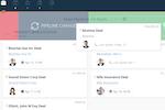 Teamgate Screenshot: Deals sales pipeline
