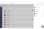 Jibble screenshot: Clock in and out of work through the web app, mobile app, or Slack