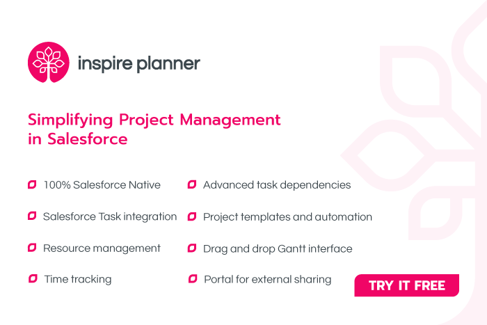 Inspire Planner - Simplifying Project Management in Salesforce
