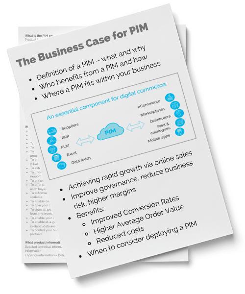 Business Case For PIM