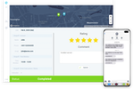 eLogii screenshot: Customer Tracking and Feedback