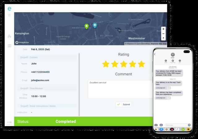 Customer Tracking and Feedback
