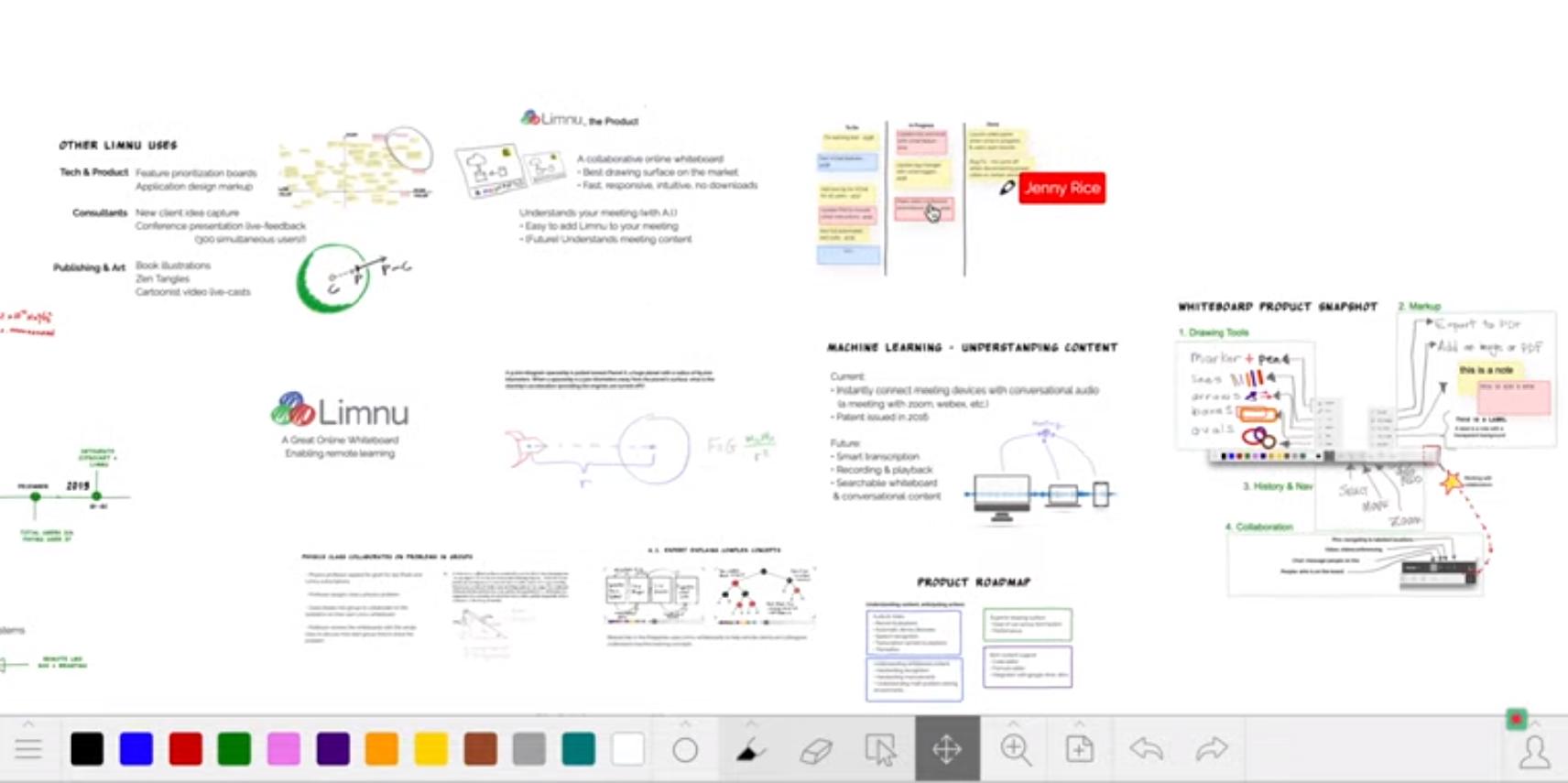 Limnu Software - Limnu whiteboard sketching