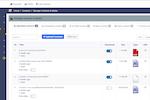 BrainCert screenshot: Content library