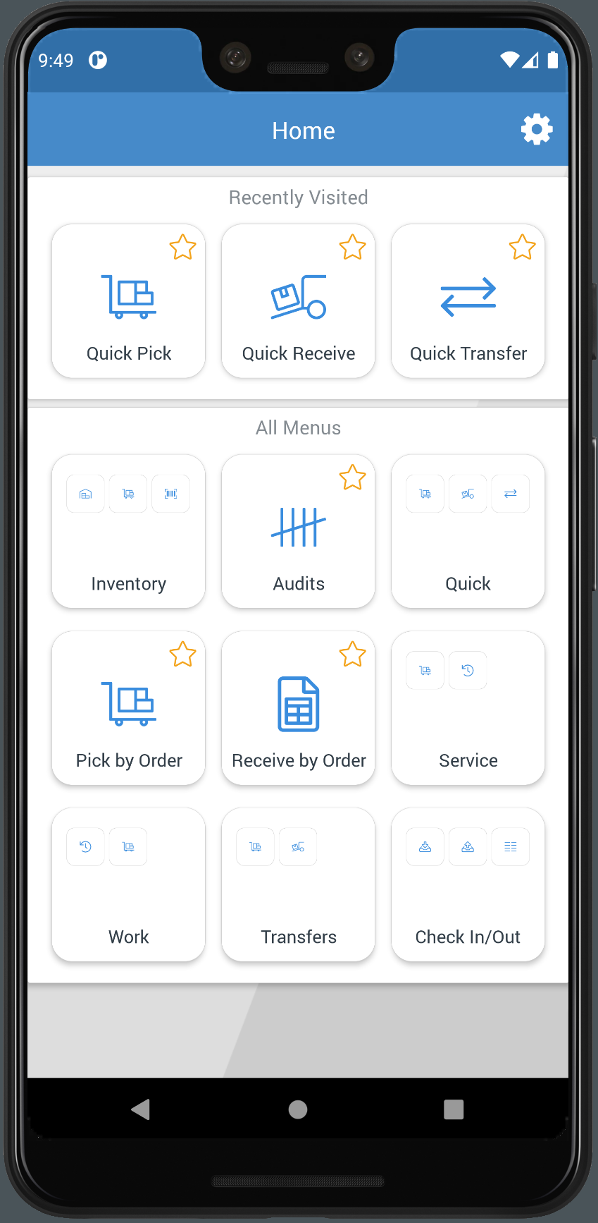 Flowtrac Software - Android/IOS Application