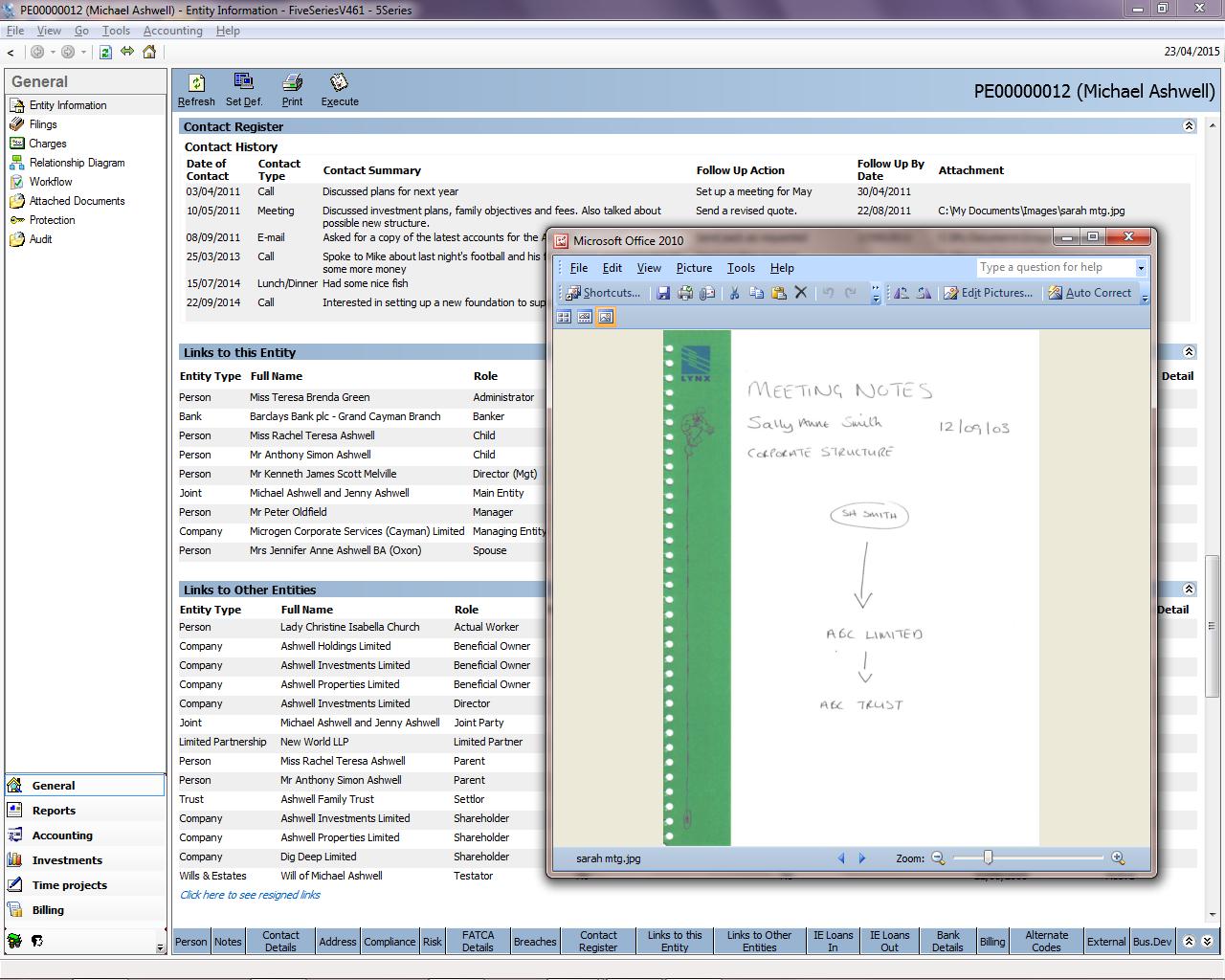 TrustQuay 5Series document management