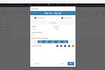 Capture d'écran pour TimeWorksPlus : TimeWorksPlus shift creation