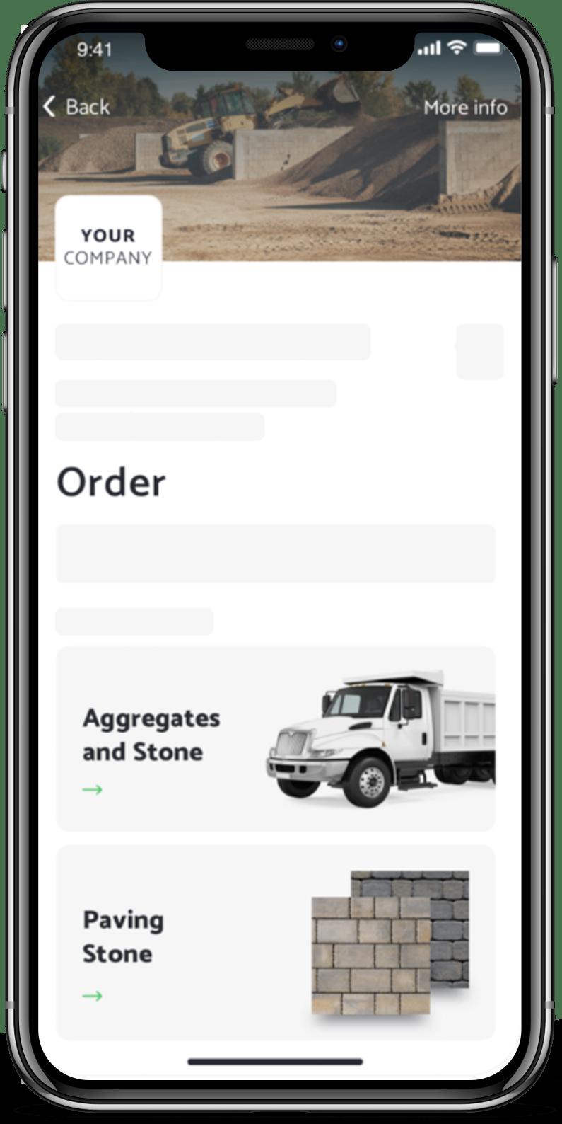 Brokrete mobile app