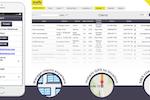 Capture d'écran pour AroFlo : Full client management