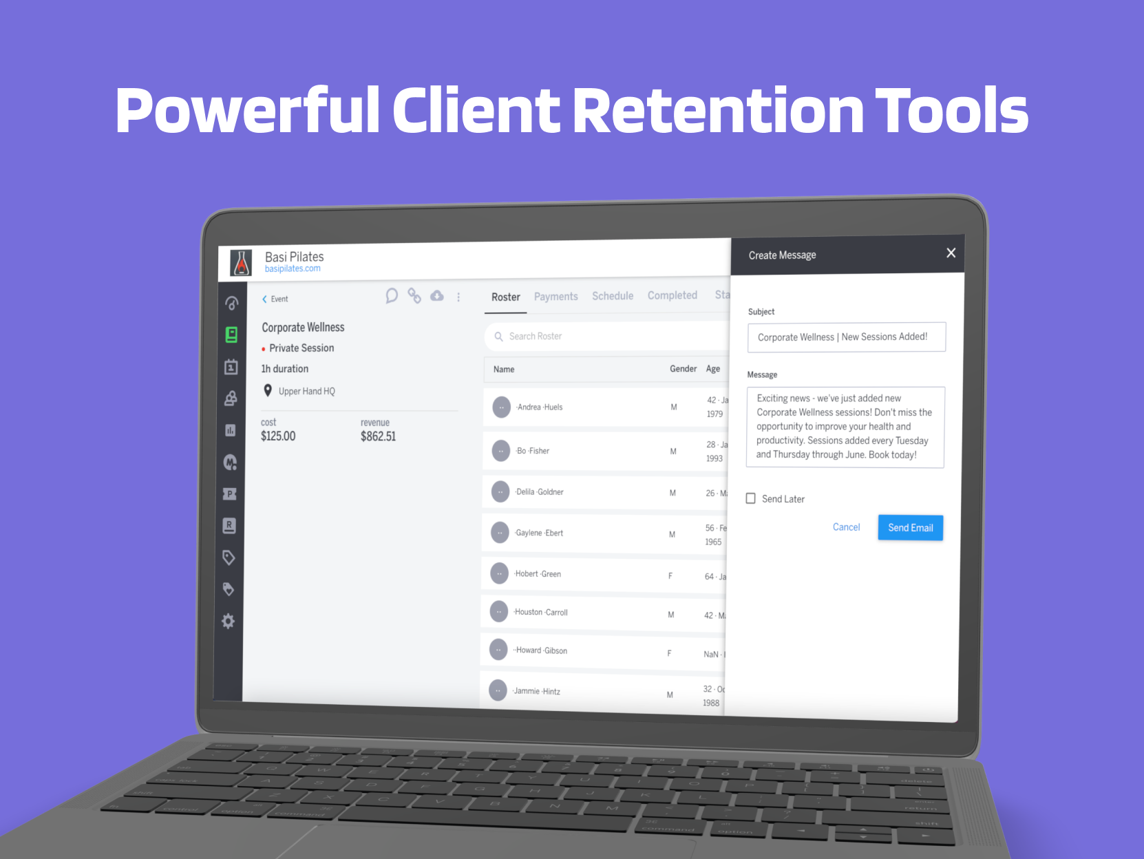 Upper Hand Software - Flexible contact management and marketing tools help build your book of business while eliminating costs for third-party services. Maximize marketing ROI with contact reporting like heat maps, login dates, and purchasing trends.
