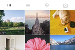 Instagram screenshot: All posts published by a user are visible on their profile