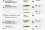 Outmatch screenshot: Hiring actions and candidate pursuit decisions can be informed by objective reference check scores, plus the removal of low-scoring talent