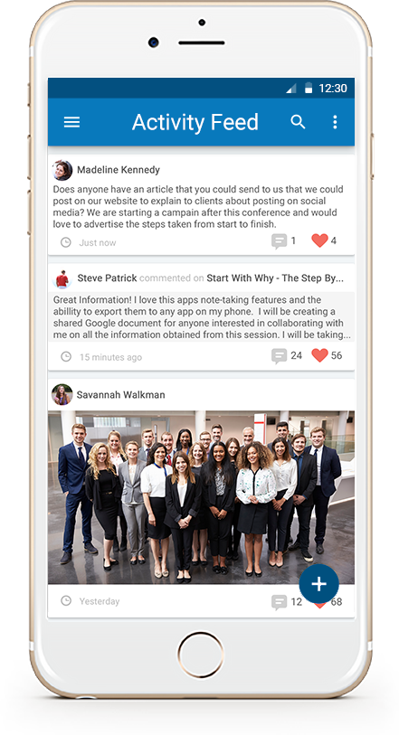 Use our Mobile App for In-Person, Virtual or Hybrid Events. Agendas, Socialization, Attendance Tracking and more right from your phone.