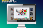 Magisto screenshot: Image selection process to integrate in marketing video