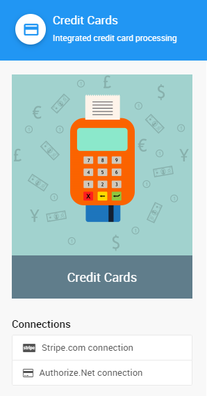 Auctria payment processing