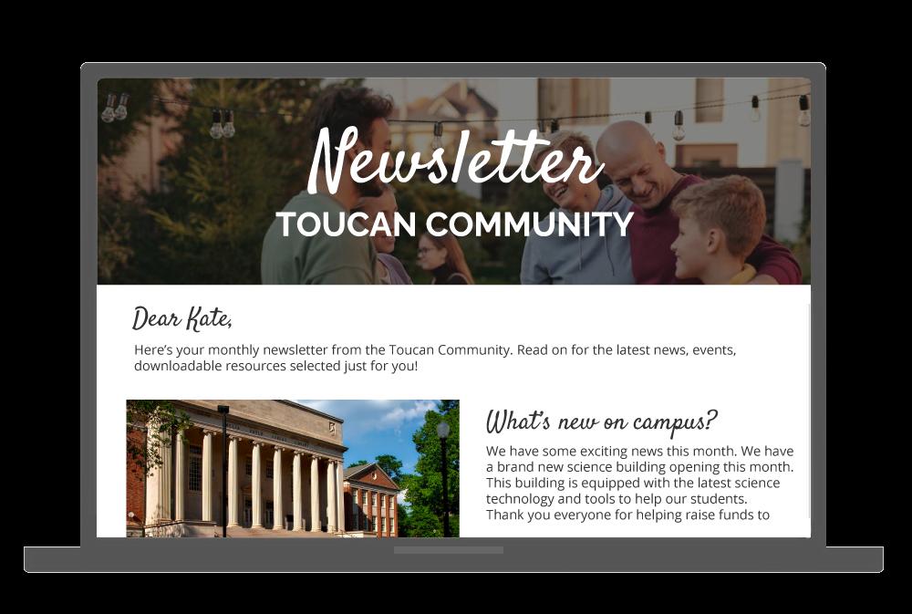 ToucanTech Software - Sending engaging emails