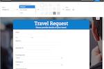 Captura de pantalla de Zoho Forms: theme-editor-web