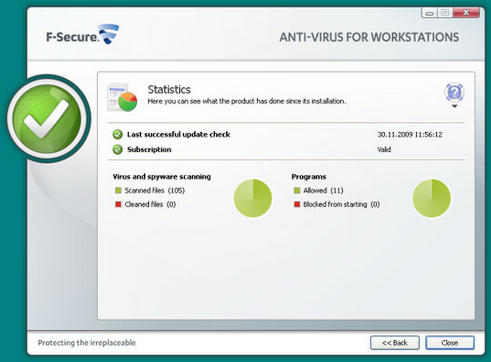 Workstation antivirus