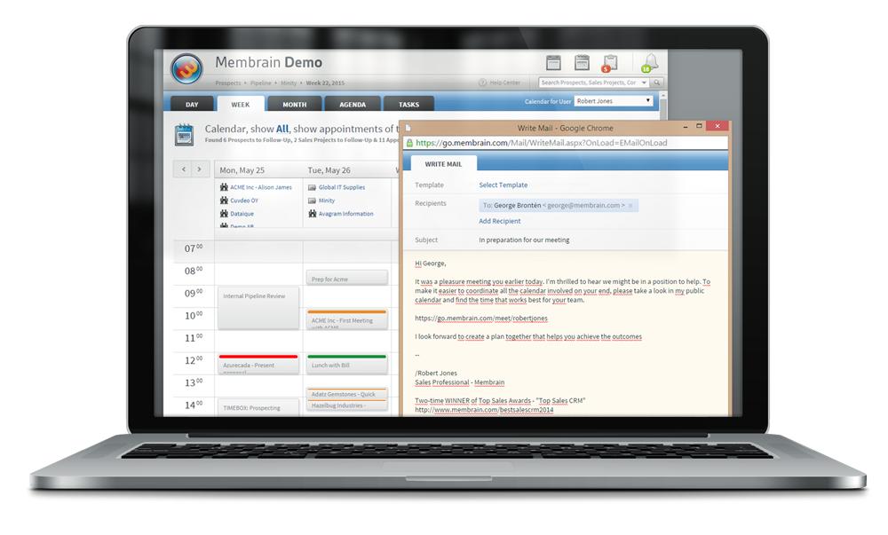 Sales productivity tools