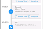 OfficeTools screenshot: Mobile Activities