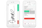 GetSwift screenshot: Capture digital signatures