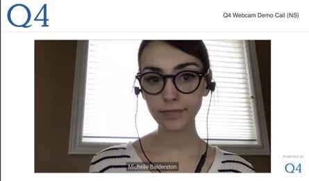 Q4 Desktop webcasting