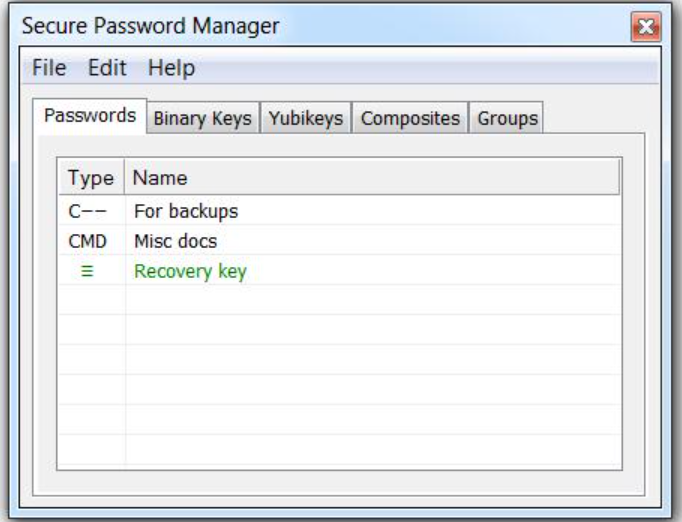 Kryptel password manager