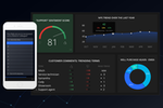 GetFeedback screenshot: Monitor key metrics with GetFeedback's Real-Time Dashboards and Text Analytics