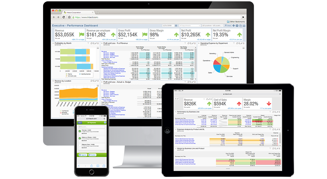 Sage Intacct Software - Mobility
