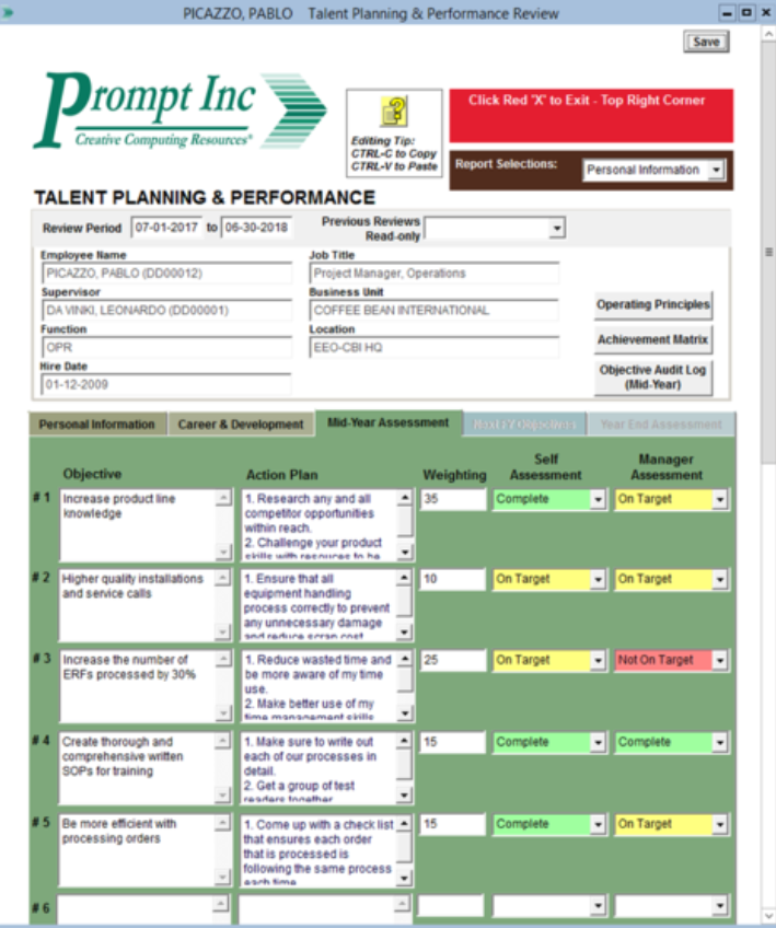PromptPayPlanner performance review