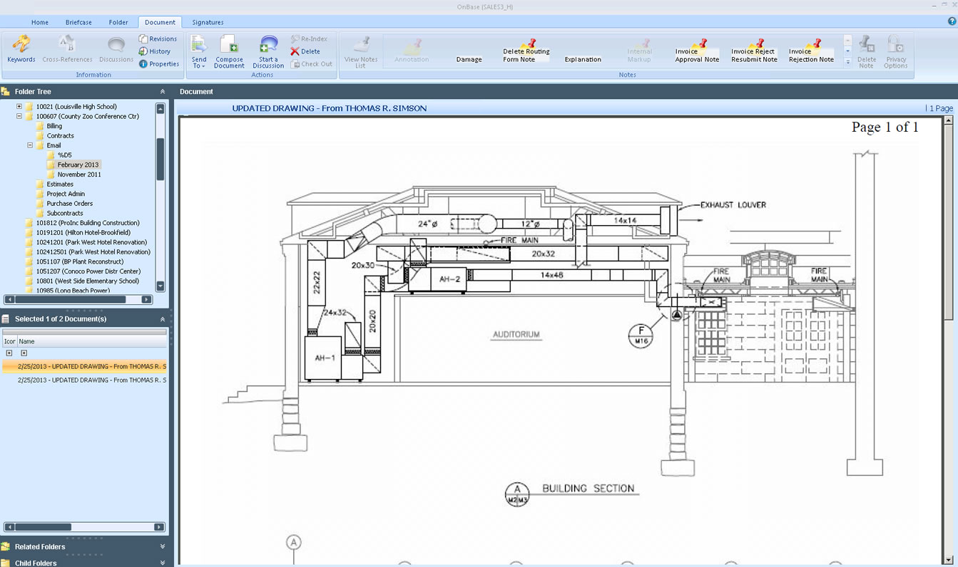 PENTA ERP Software - Enterprise content management
