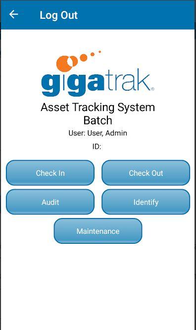 GigaTrak's Asset Tracking System actions
