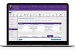 Modernizing Medicine screenshot: Using Practice Management, users can schedule appointments, access reports & manage documents & billing from a central location. It integrates directly with our EHR system, EMA.