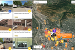 Threshold 360 screenshot: Build and share collections of 360° virtual tours, providing rich context to a neighborhood or destination, with Threshold Collection Maps