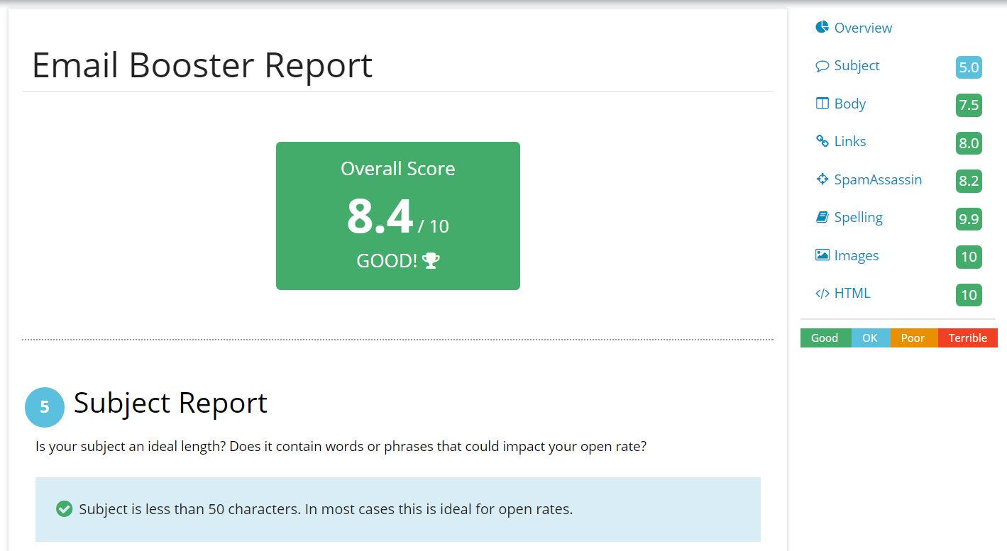 Winning Email Software - Email booster report