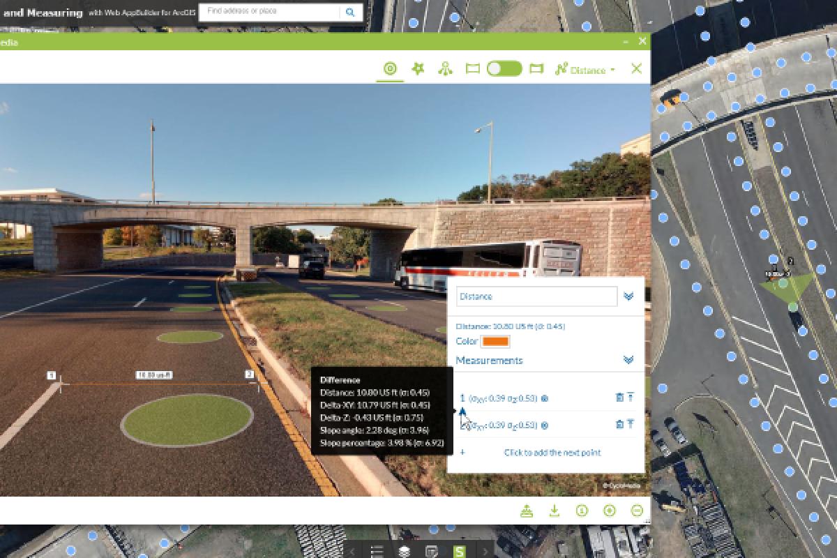 CycloMedia map view