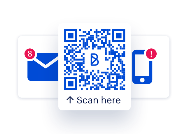 Phone and email free onboarding. Onboarding via SMS invites, paper handouts, QR codes, personal email, work email.