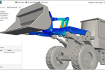 SimScale screenshot: Finite Element Analysis (FEA) for performing stress analysis within the web browser