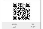 Captura de pantalla de VBO Tickets: QR code scanning