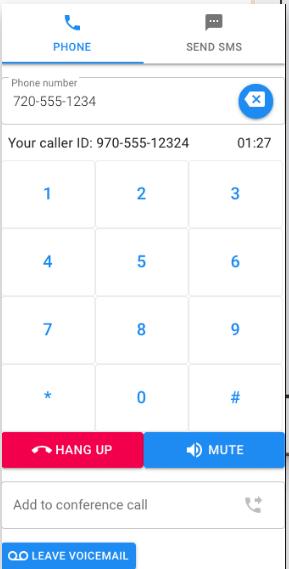 iSalesCRM dialer