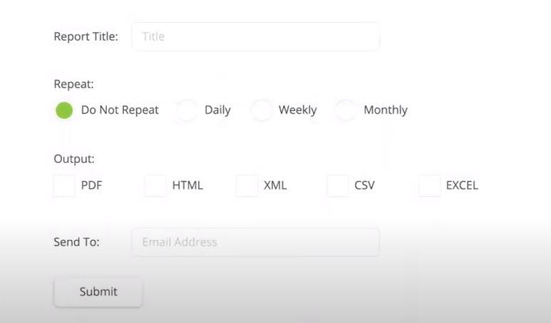ContentKeeper generate custom reports