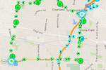 WorkWave Route Manager screenshot: Plan optimized routes for field drivers