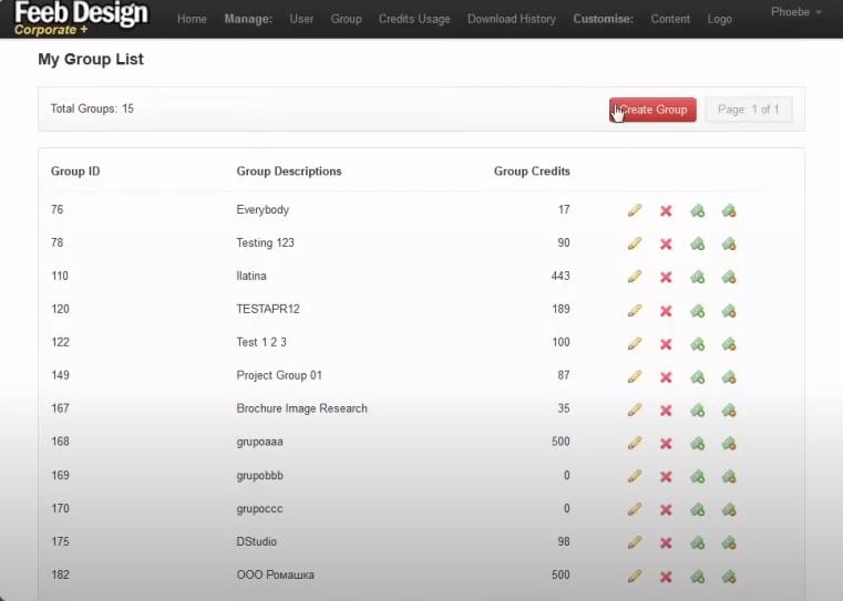 123RF Corporate+ user management