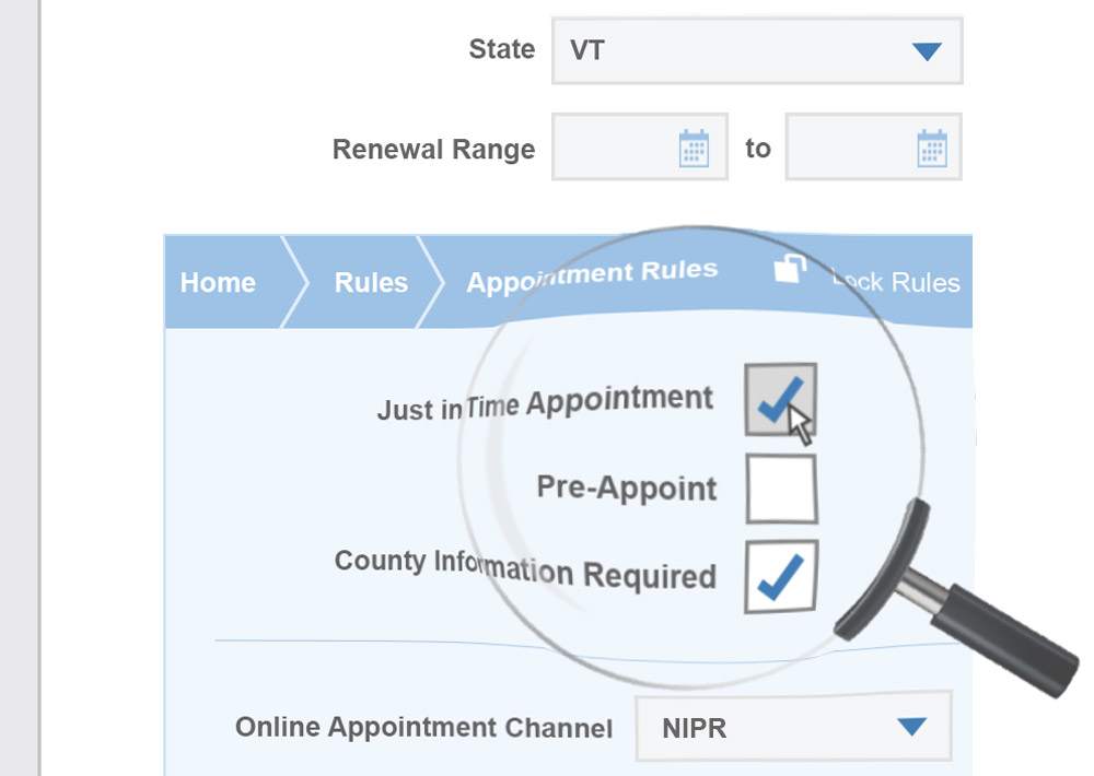 Configure business rules and workflows