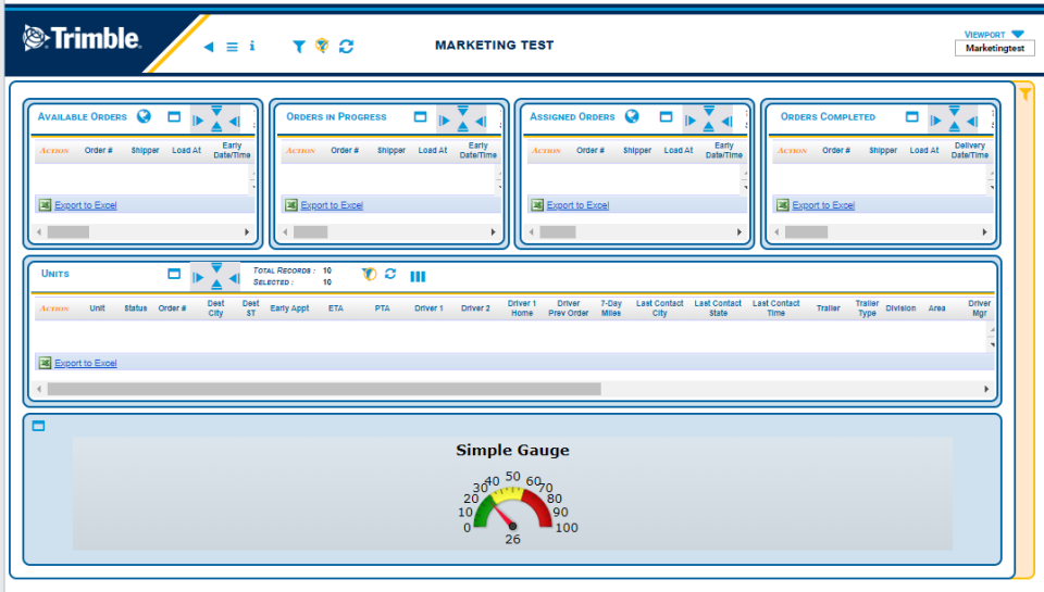 Trimble TMS Software - 1
