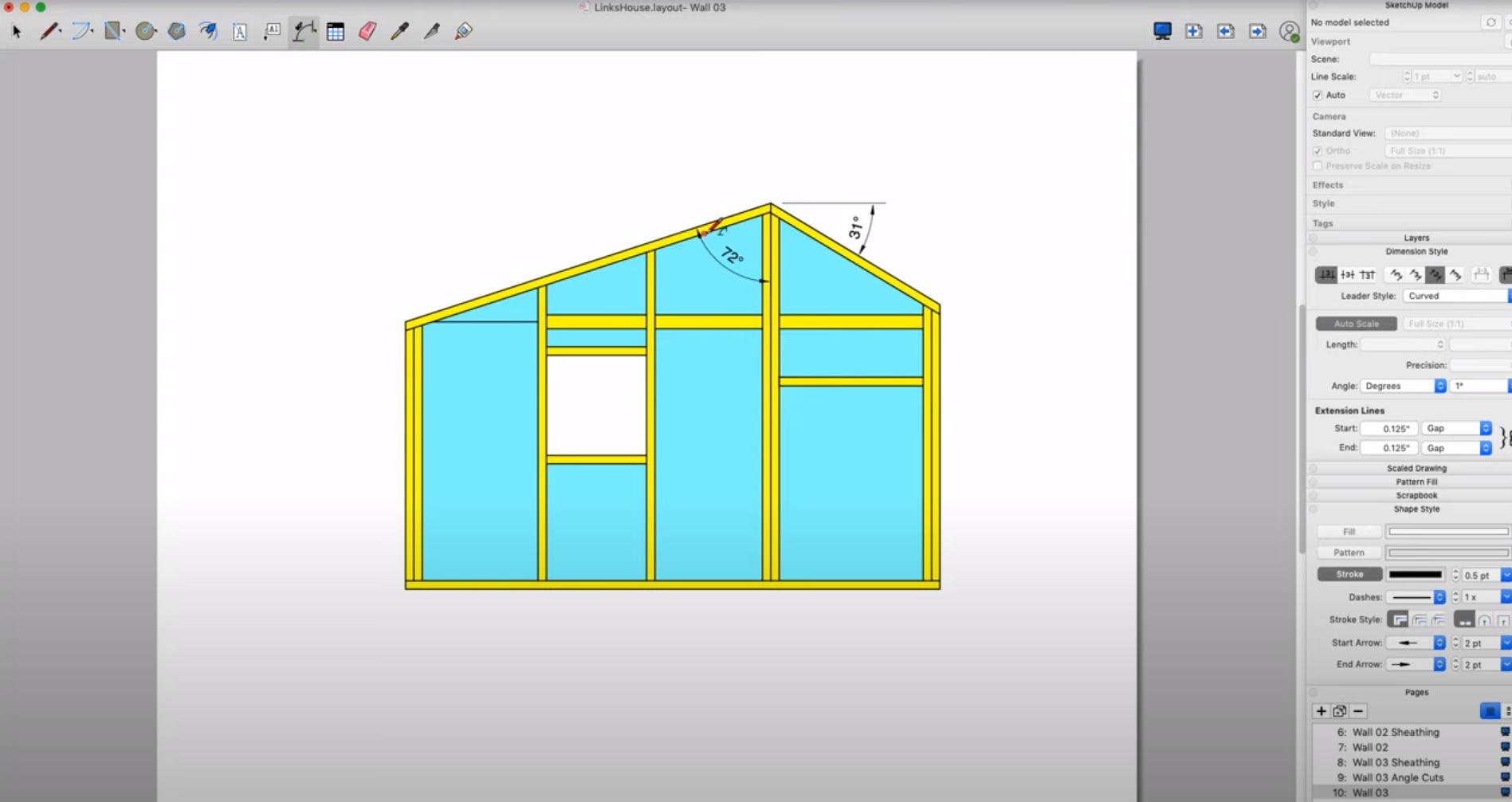 SketchUp Software - SketchUp layout tool