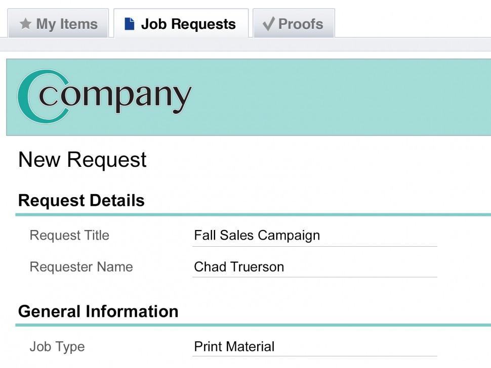 Customer-request portal