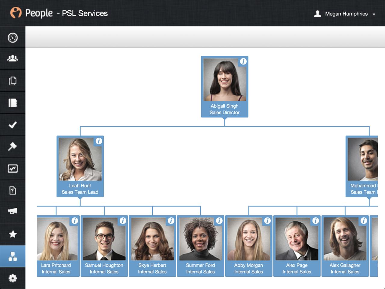 PeopleHR Software - Define workflows